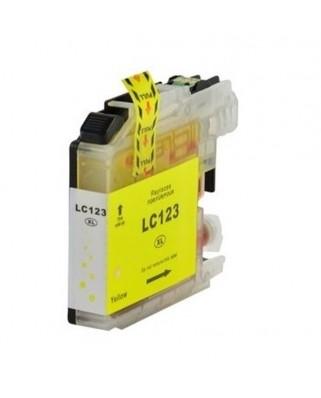 Brother LC-123Y съвместима мастилница, жълт
